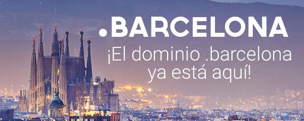Empieza la disponibilidad general para el dominio .barcelona.
