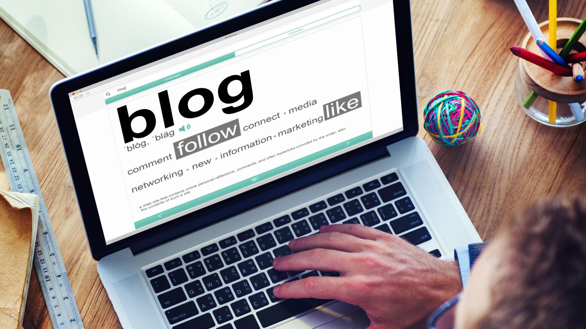 Creación de un Blog: fundamental para el negocio